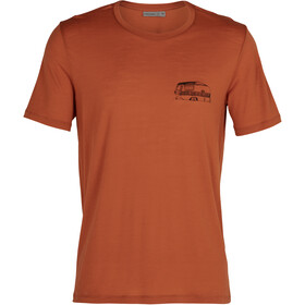 Icebreaker Tech Lite SS Crew Shirt The Good Life Men roote